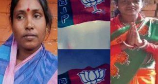 बर्तन मांजने वाली कलिता और दिहाड़ी वाली चंदना, बीजेपी ने बनाया उम्मीदवार, हो रही जबरदस्त चर्चा!