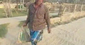एक थाने से दूसरे में भेजती रही पुलिस, बेटे का शव बोरी में भरकर पैदल चलता रहा लाचार पिता!