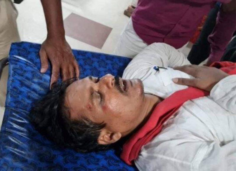 डीएम ने कहा मारो, एसपी ने छाती पर बूट रखकर मारा, लालू के विधायक ने सुनाई आपबीती!