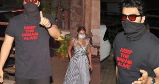 उंगली दिखाकर अर्जुन कपूर ने दिखाया गुस्सा, लाल शर्ट वाले शख्स को खूब हड़काया, मलाइका साथ थीं