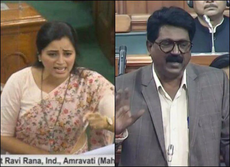 लोकसभा में शिवसेना सांसद की खुली धमकी- 'तू महाराष्ट्र में कैसे घूमती है, देखता हूं'