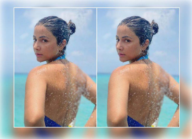 हिना खान ने नहाते हुए शेयर की फोटो, नशीली आंखों से दिया कातिलाना लुक
