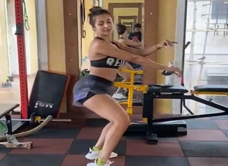 मलाइका अरोड़ा का जिम में धमाकेदार डांस, वीडियो जबरदस्त वायरल