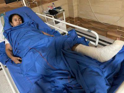 दीदी को आई गंभीर चोट, बुखार के साथ सीने में भी दर्द, BJP बोली नाटक, वहीं चश्मदीदों ने बताया सच