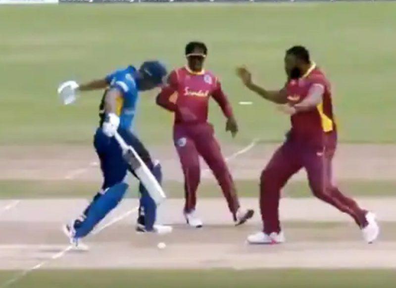 Video:  रन आउट से बचने के लिए बल्लेबाज़ ने चली थी 'चाल', अंपायर ने फिर भी दे दिया आउट