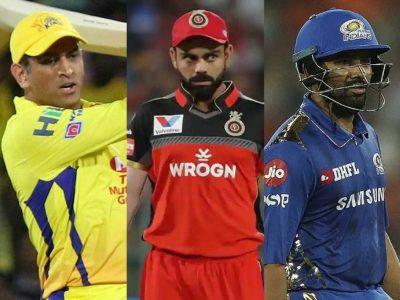 IPL 2021- धोनी, विराट कोहली और रोहित शर्मा पर बैन का खतरा, जानिये पूरा मामला?