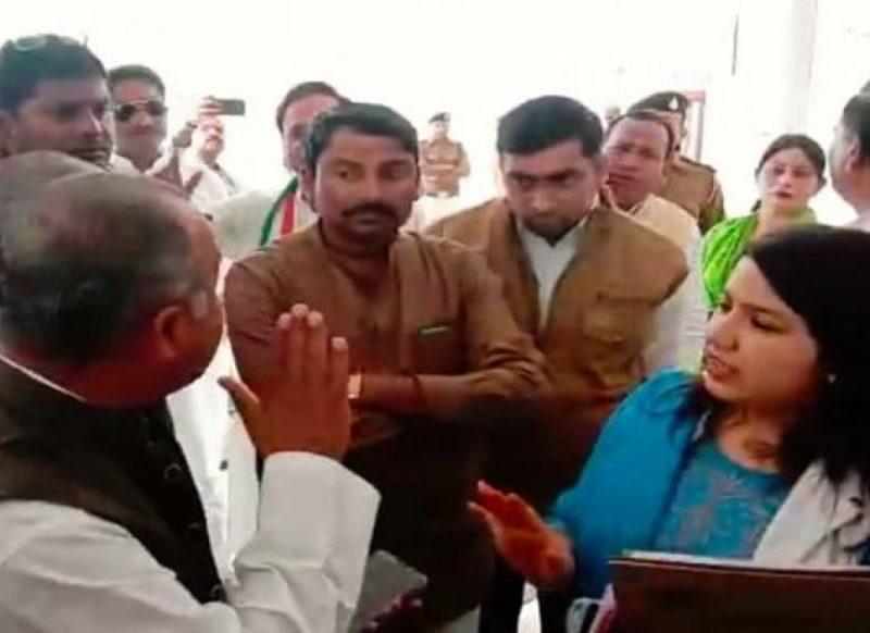 आपके भाई-रिश्तेदार अवैध खनन में शामिल, जब महिला अधिकारी ने कांग्रेसी मंत्री के सामने लगा दी क्लास!