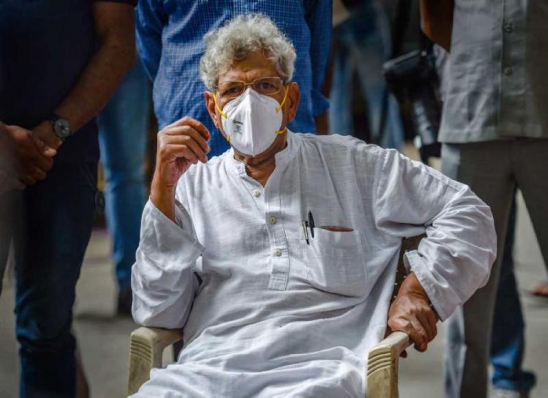 दिग्गज राजनेता सीताराम येचुरी के बेटे का कोरोना से निधन, ट्वीट कर दी जानकारी
