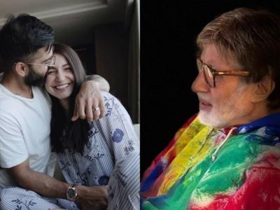 विराट-अनुष्का पर अमिताभ बच्चन ने मारा ऐसा Joke, लोग हंसते-हंसते बेहाल!