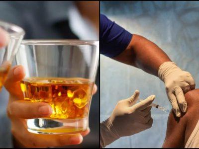 कोरोना वायरस का टीका लेने के बाद शराब पी सकते हैं या नहीं? जान लें ये जरूरी बात