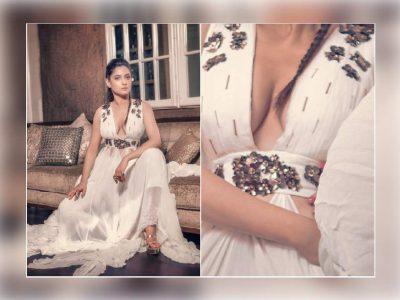 अंकिता लोखंडे ने डीप क्लीवेज तस्वीरें की शेयर, यूजर बोले- पागल हो गई, क्या दिखाना चाह रही हो?
