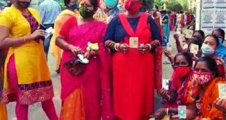 कोरोना के हाहाकार के बीच बंगाल में पांचवें चरण का मतदान जारी, PM ने की भारी मतदान की अपील