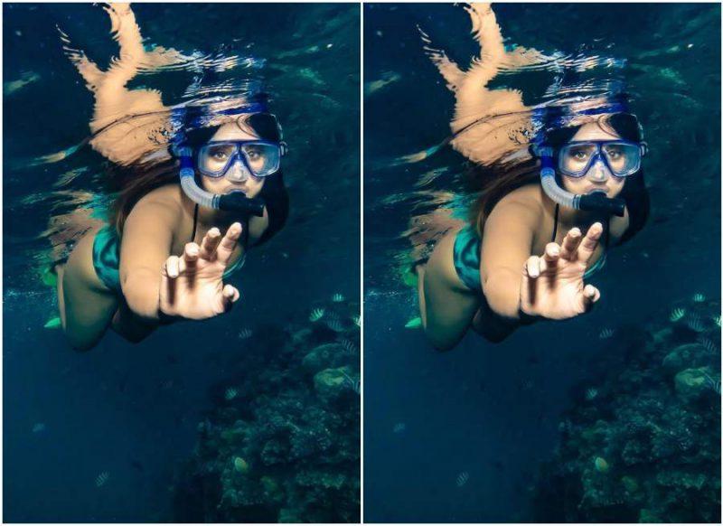 इलियाना डिक्रूज की अंडरवॉटर तस्वीरें वायरल, लोग बोले 'जलपरी'