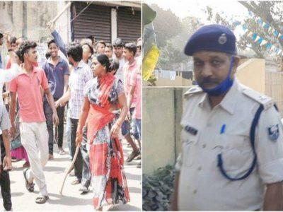 पश्चिम बंगाल- छापेमारी के लिये गई बिहार पुलिस पर हमला, थानेदार को पीट-पीट कर मार डाला!