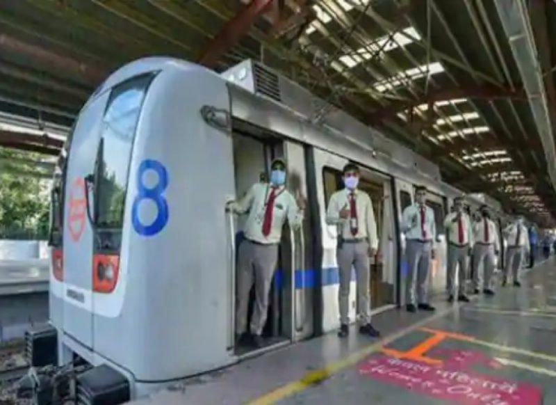 Delhi Metro- कोरोना के बढते मामलों की वजह से दिल्ली मेट्रो में कुछ स्टेशनों में प्रवेश पर रोक!