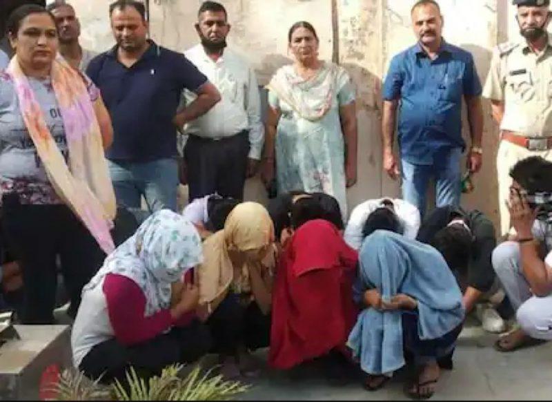 स्पा और कैफे की आड़ में हो रहा था गंदा काम, 4 लड़कियां समेत 12 गिरफ्तार!