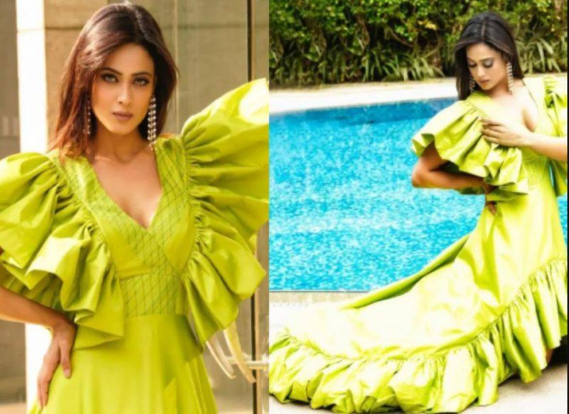 श्वेता तिवारी फोटोशूट से फिर बटोर रही सुर्खियां, हरे रंग की ड्रेस में ढा रही कयामत!