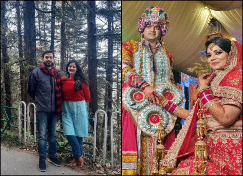 ओशीन के हुए BJP विधायक विशाल नैहरिया, दोनों ने गद्दी रिति-रिवाज से की शादी