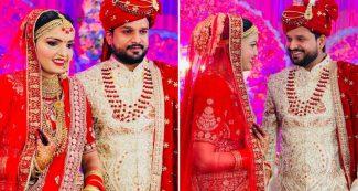 भोजपुरी स्टार रितेश पांडे ने लिए सात फेरे, शादी की खूबसूरत तस्वीरें देखें