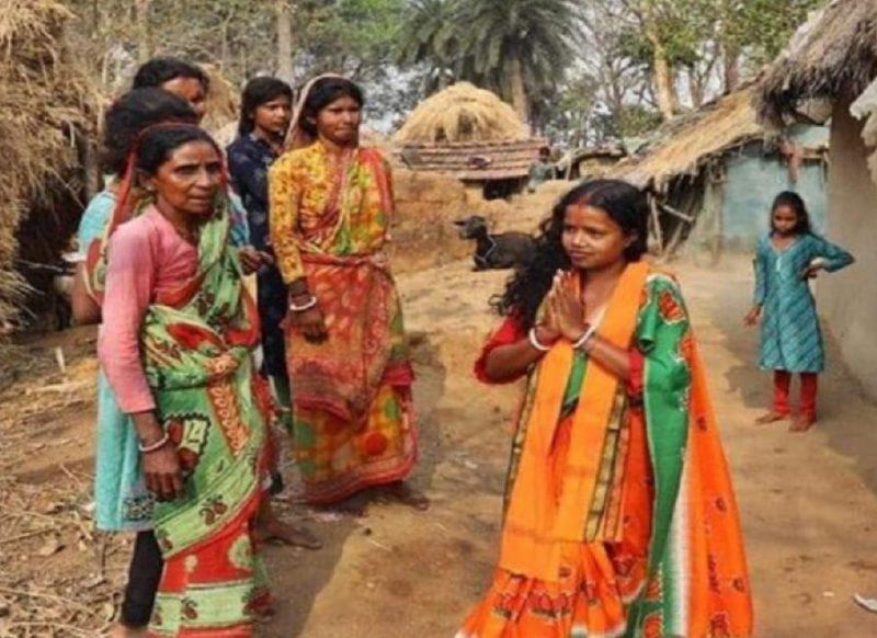 पति मजदूर, घर के नाम पर झोपड़ी, 3 बकरी-3 गाय की संपत्ति,  चर्चा में है BJP MLA चंदना बाउरी की जीत