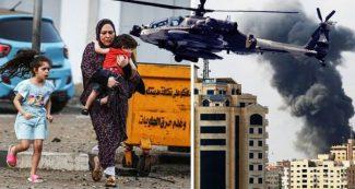 लगातार 40 मिनट तक हमास के ठिकानों पर बरसीं इजरायल की तोपें, तबाह हो गए घर, सैकड़ों मरे, अब पलायन
