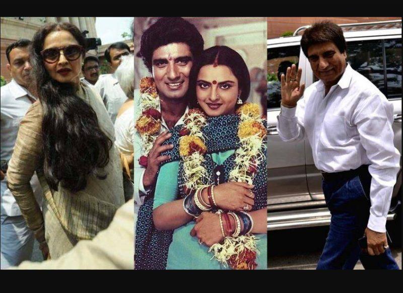 जब राज बब्बर ने तोड़ा रेखा का दिल, रोते हुए मुंबई की सड़कों पर दौड़ पड़ी थी एक्ट्रेस
