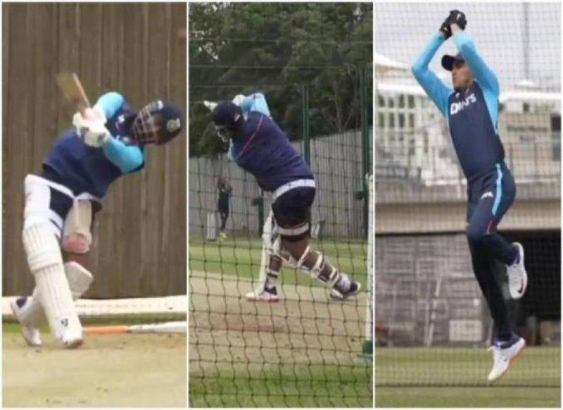 पंत ने लगाये ताबड़तोड़ छक्के, शुभमन ने पकड़ा शानदार कैच, टीम इंडिया ने बहाया पसीना, वीडियो