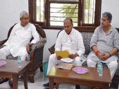 JDU को चाहिये मोदी सरकार में हिस्सेदारी, नीतीश के 3 करीबी नेताओं के मंत्री बनने की चर्चा