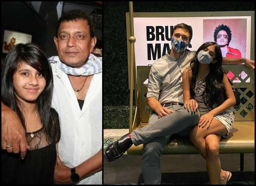 Mithun Daughter dishani chakraborthy