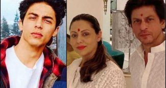 पापा शाहरुख – मम्मी गौरी को देखकर बिलख कर रोने लगे आर्यन खान, ऐसी थी तीनों की हालत